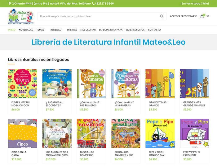 Diseño web de tienda online